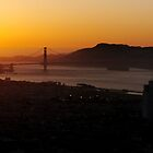 San Fran Golden Gate Bridge by Bill Lane