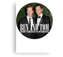 Benedict and Tom Canvas Print