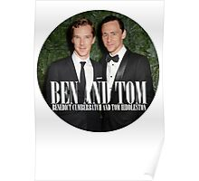 Benedict and Tom Poster