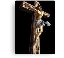 Jesus Christianity Religion Crucifiction Canvas Print