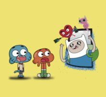 ADVENTURE TIME X GUMBALL Kids Clothes