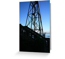 San Francisco: Water Tower Blues Greeting Card