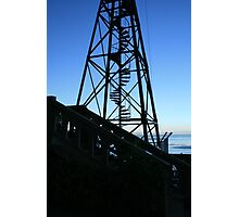 San Francisco: Water Tower Blues Photographic Print