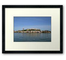 San Francisco: Alcatraz Island Framed Print