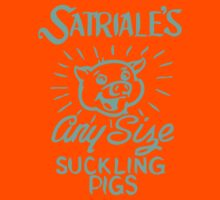 Satriale's - Any Size Suckling Pigs Kids Clothes