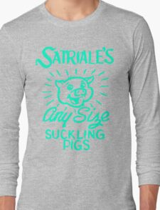 Satriale's - Any Size Suckling Pigs Long Sleeve T-Shirt