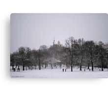 Greenwich Park & Observatory Canvas Print