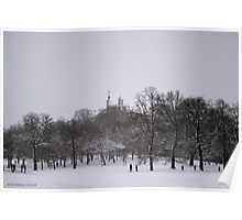 Greenwich Park & Observatory Poster