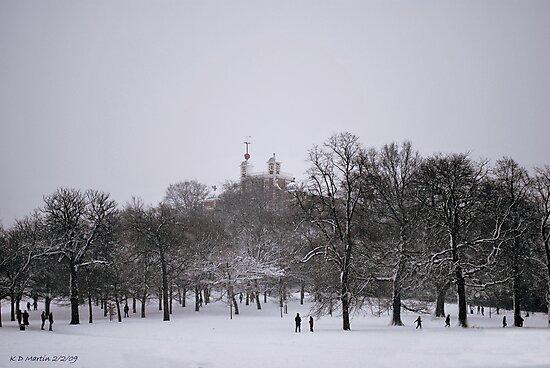 Greenwich Park & Observatory by Karen Martin