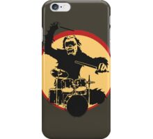 Gorilla Drummer iPhone Case/Skin
