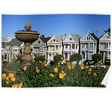 San Francisco: The Painted Ladies Poster