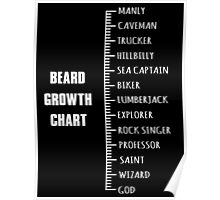 Measure your Beard. Poster