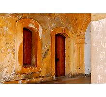 Puerto Rican fortress Photographic Print