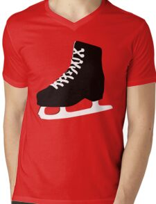 ice skate Mens V-Neck T-Shirt