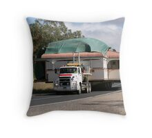 Moving House Throw Pillow