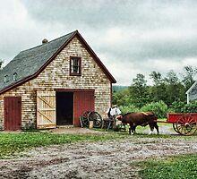 Ross Farm, Nova Scotia by Amanda White
