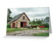 Ross Farm, Nova Scotia Greeting Card