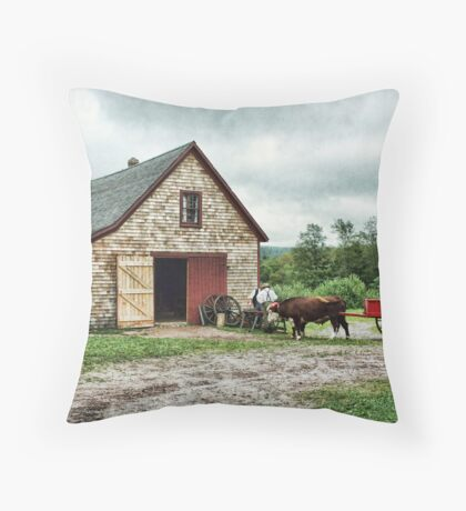 Ross Farm, Nova Scotia Throw Pillow