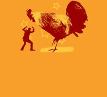 Attack of the Giant Rooster Unisex T-Shirt