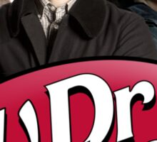 Dr Watson - 3 Representations Sticker