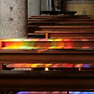 Rainbow in the Church by sstarlightss