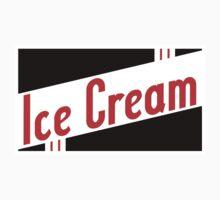 retro ice cream Kids Clothes
