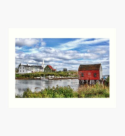 Prospect, Nova Scotia Art Print