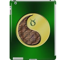 Taurus & Boar Yin Metal iPad Case/Skin
