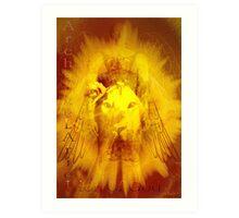 Archangel Ariel'... Art Print