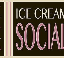 vintage ice cream social by maydaze