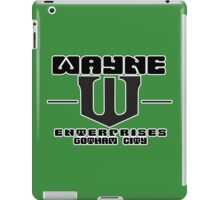 WAYNE ENTERPRISES Funny Geek Nerd iPad Case/Skin