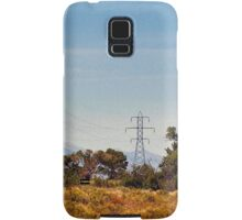 Cracklin'  wire above the river Samsung Galaxy Case/Skin