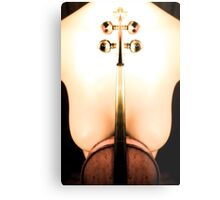 The Violin Stand  Metal Print