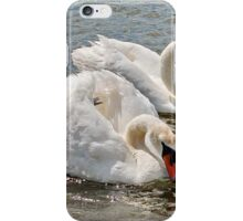 Mr & Mrs Swan iPhone Case/Skin