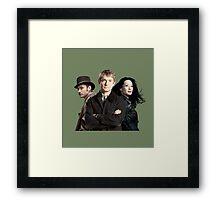 Dr. Watsons - Three Representations. Framed Print