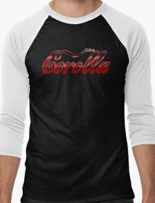 Corolla Coca Cola Men's Baseball ¾ T-Shirt