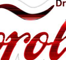 Corolla Coca Cola Sticker