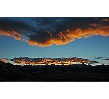 Westcliffe Sunset Photographic Print