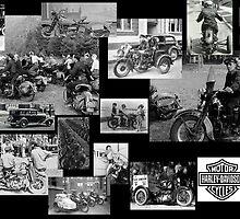 Vintage Harley-Davidson by mooner1
