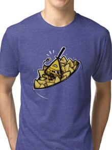 Bill Cipher boss of Doritos Tri-blend T-Shirt