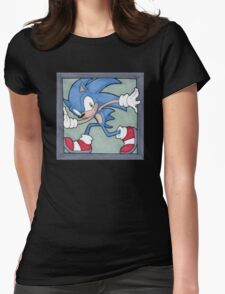 Sonic the Hedgehog 02 Womens Fitted T-Shirt