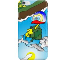 """Rick the chick """"SOUND BARRIER"""" iPhone Case/Skin"""