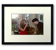 Blow and Squeeze! Framed Print