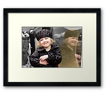 Little Lexi Framed Print