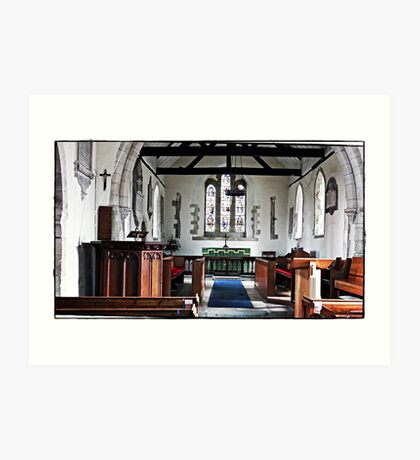 Yapton Church Art Print