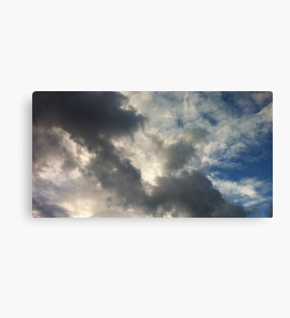 Twilight Clouds Canvas Print
