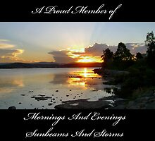 Mornings And Evenings Group Banner Challenge by reflector