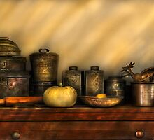 Kitchen Still Life by Mike  Savad