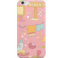Seaside and Summer Time iPhone Case/Skin
