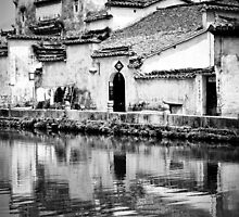 Water Town in Black & White 1 by justinjm